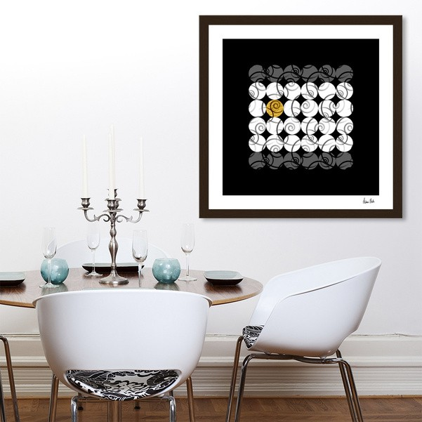Abstract Circles | odd one out no. 1 - CURIOOS Onlineshop