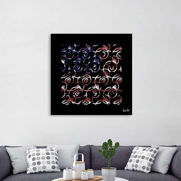 Abstract Forms | spiral USA banner no. 1 - CURIOOS Onlineshop