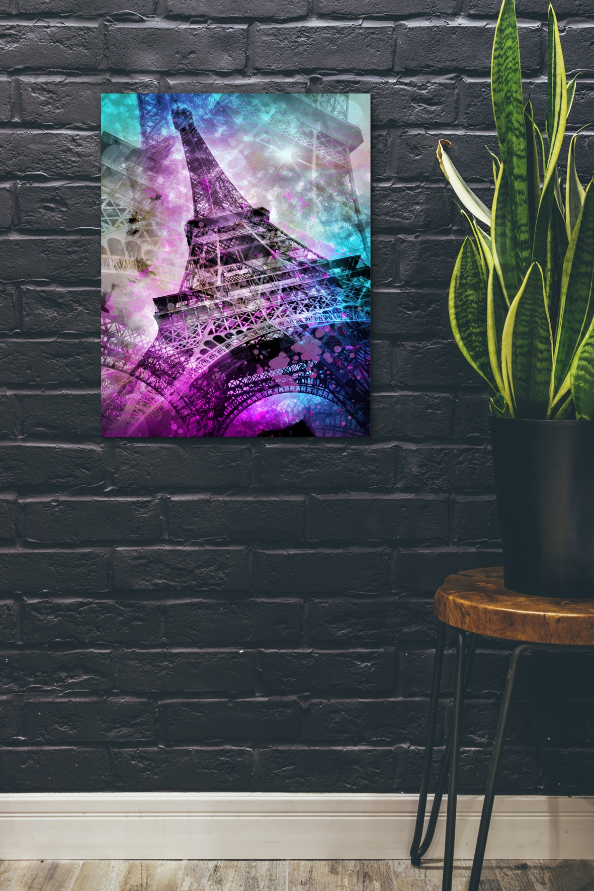 Pop Art Eiffel Tower - Pixels.com Onlineshop