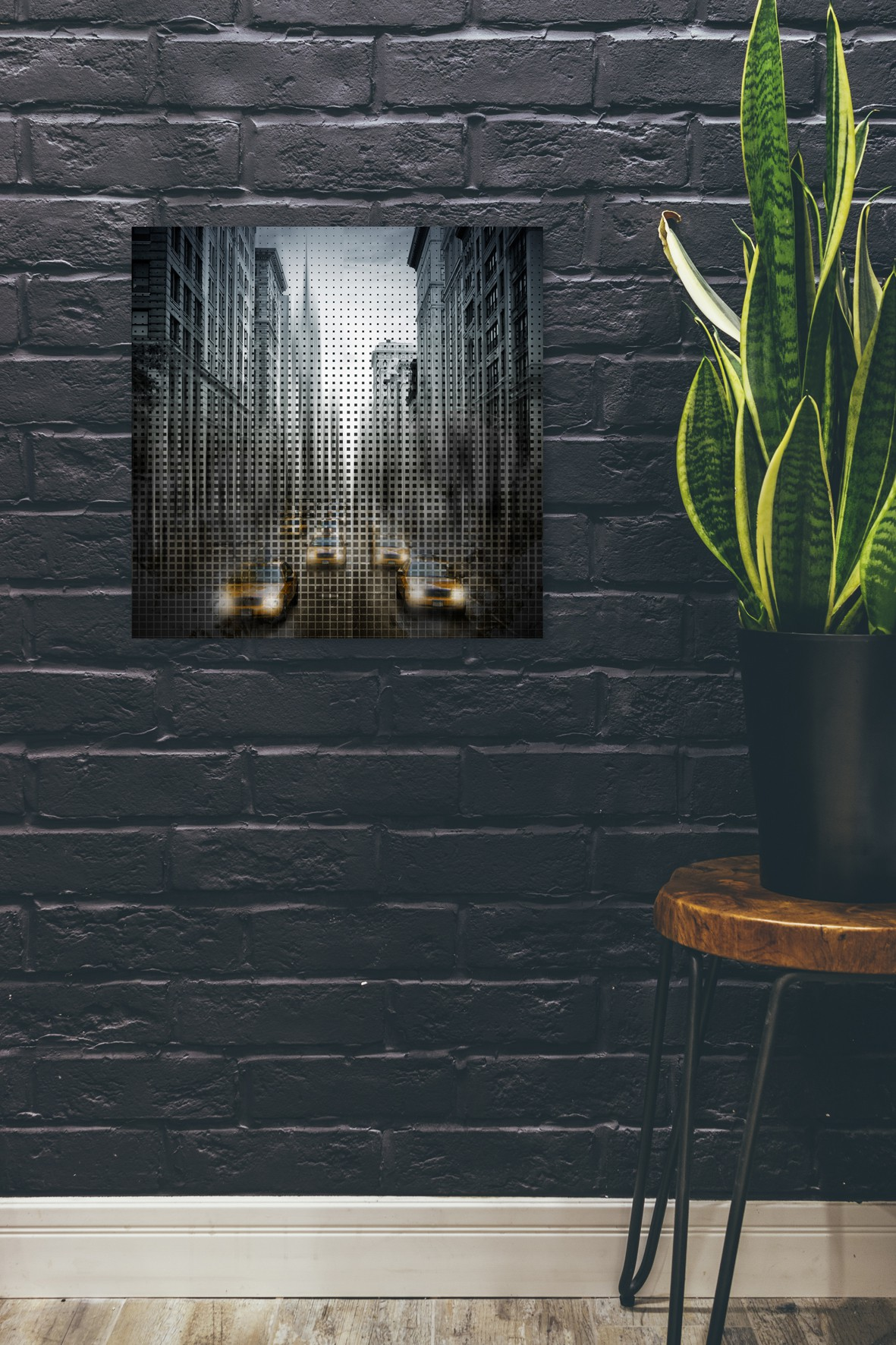 Graphic Art NYC 5th Avenue Traffic V - OhMyPrints Onlineshop