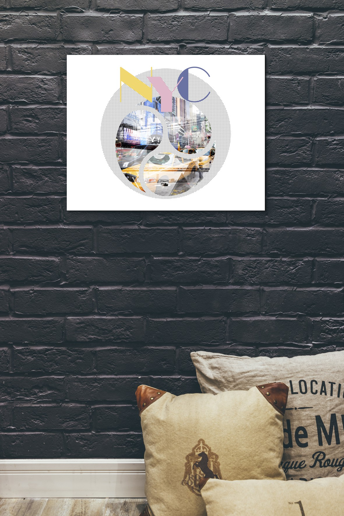Trendy Design New York City Geometric Mix No 1 - Pixels.com Onlineshop