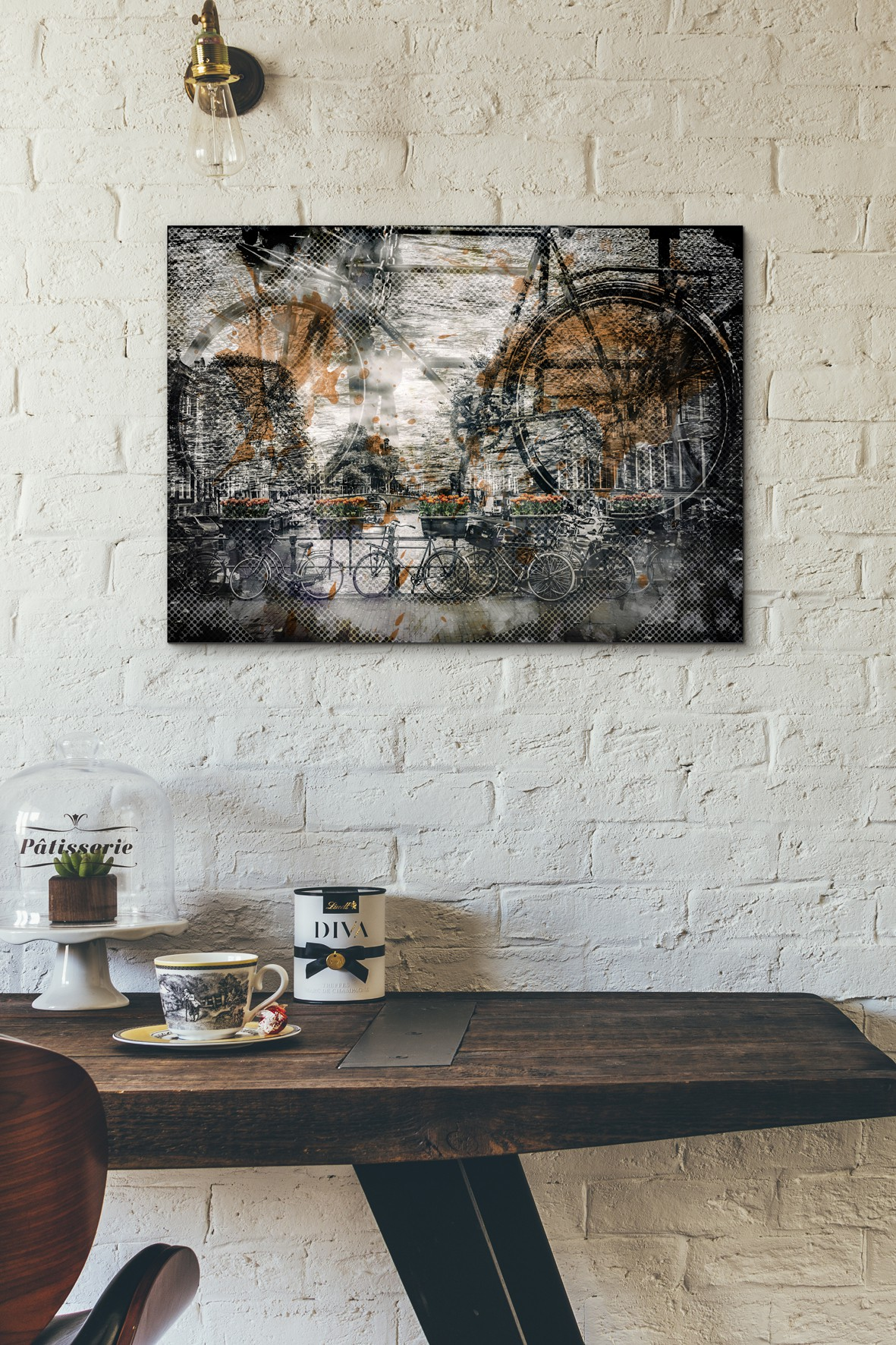 City-Art AMSTERDAM Fahrräder - OhMyPrints Onlineshop
