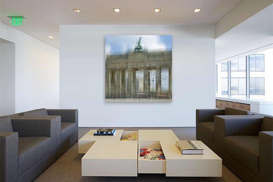 City-Art BERLIN Brandenburger Tor - OhMyPrints Onlineshop