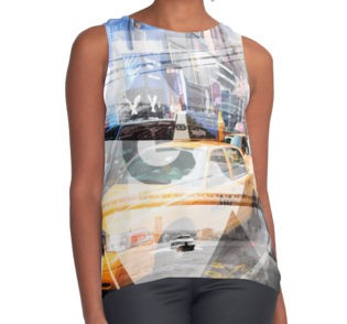REDBUBBLE Kontrast Top