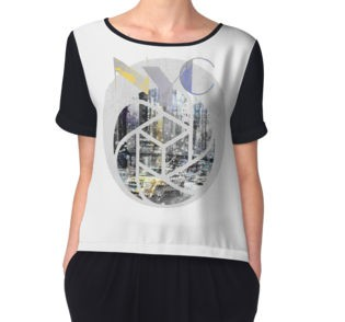 REDBUBBLE Chiffon Top