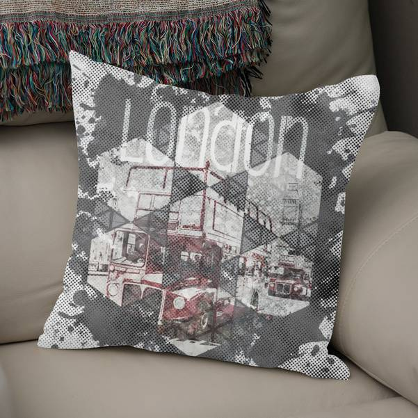 Graphic Art LONDON Streetscene - CURIOOS Onlineshop