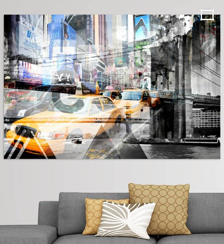 New York City | Geometric Mix No. 9 - OhMyPrints Onlineshop