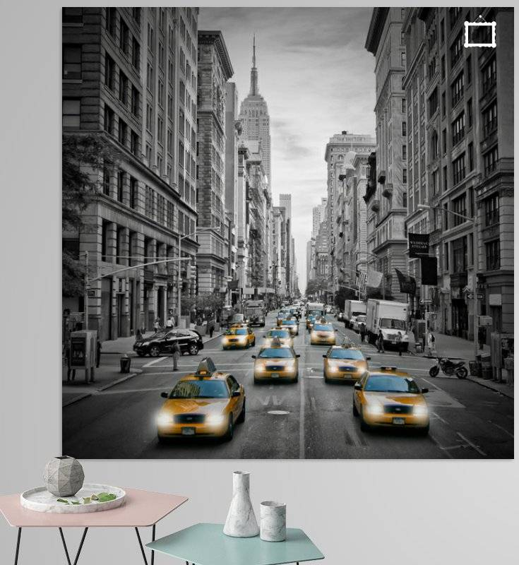5th Avenue NYC Verkehr - OhMyPrints Onlineshop