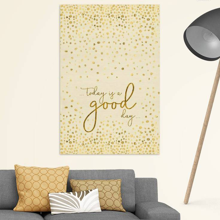 "Link - OhMyPrints - ""Textkunst TODAY IS A GOOD DAY 
