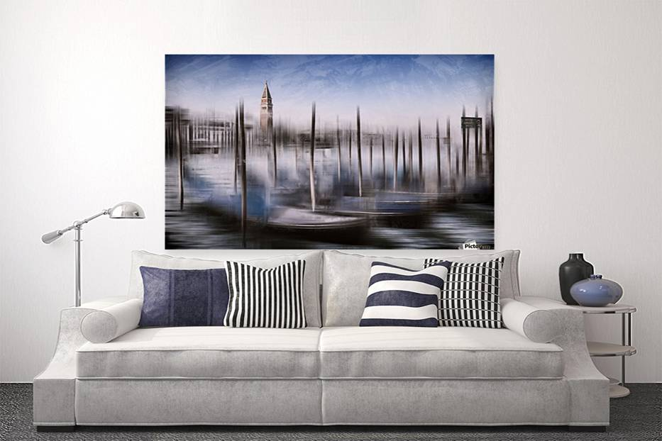 Digital-Art VENICE Grand Canal and St Mark