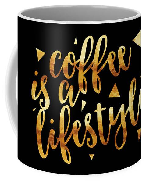 "LINK - FINE ART AMERICA "" Coffee is a lifestyle"""